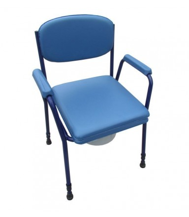 Commode Chair RFM, blue