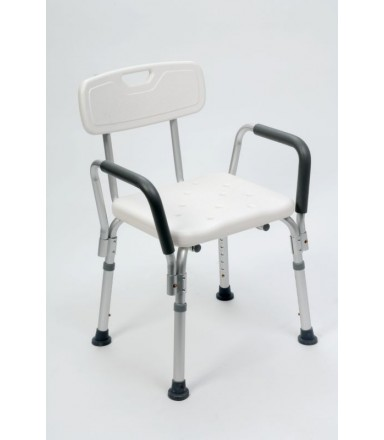Shower Bench RFM with Arm- and Backrest